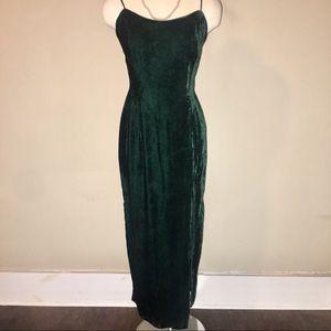 Vintage Velvet Gown